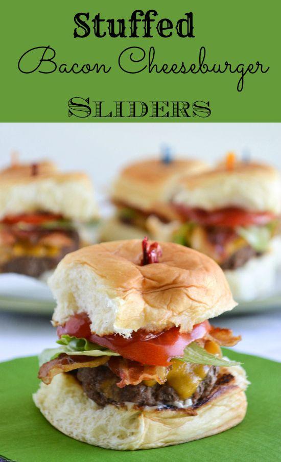 King's Hawaiian® Stuffed Bacon Cheeseburger Sliders