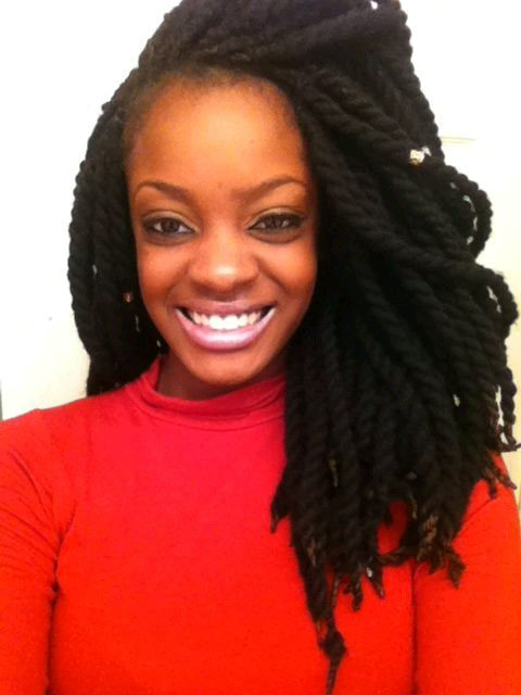 Great Protective Style - http://community.blackhairinformation.com/hairstyle-gallery/braids-twists/great-protective-style/