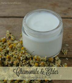 Chamomile & Elder Sensitive Skin Lotion Recipe