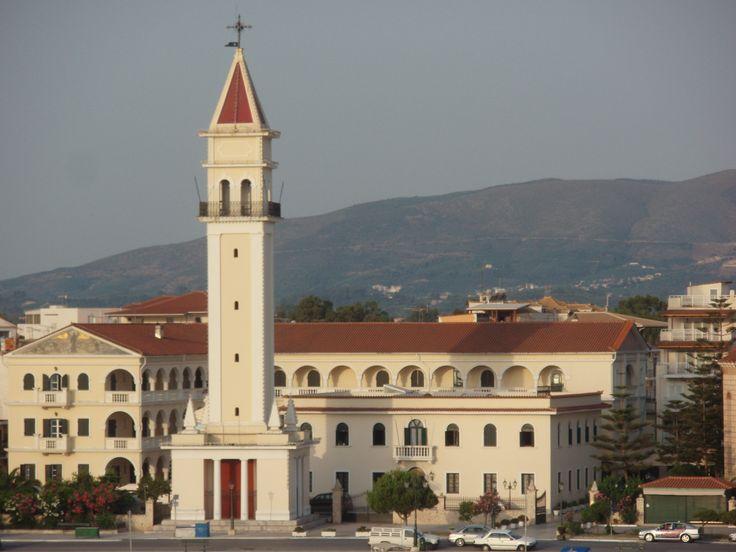 View of #Agios #Dionysios Church in #Zakynthos