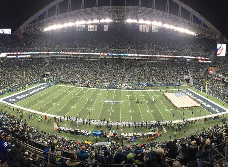 Great time at the #philadelphiaeagles game vs. the #Seahawks! Worth the trip to #seattle regardless of the score. Fly eagles fly!