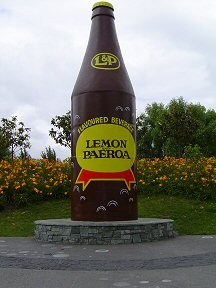 Lemon and Paeroa Drink  #kiwiana