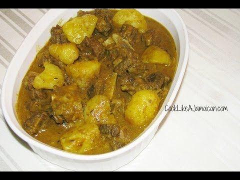 Jamaican Curry Goat Recipe Video