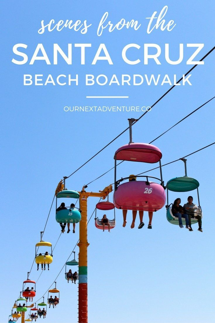Scenes from the Santa Cruz Beach Boardwalk: fun for the whole family! // San Francisco Bay Area Day Trip | California Travel with Kids | Amusement Parks