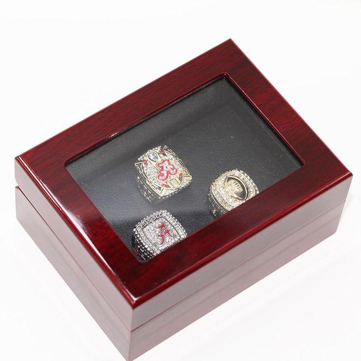 2015 ALABAMA SEC, COTTON BOWL, COLLEGE FOOTBALL PLAYOFF NATIONAL CHAMPIONSHIP RING SET