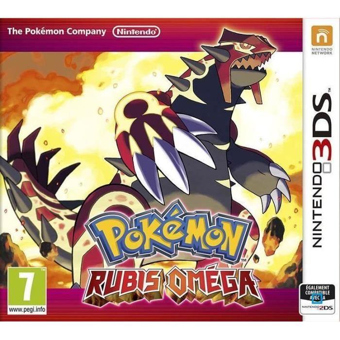 #BonPlan #JeuxVideo #Cdiscount ❤ #Pokémon #Rubis #Oméga - Jeu #3DS - #Pokemon Rubis Oméga et Pokémon #Saphir #Alpha sont sur #Nintendo 3DS et #2DS ! Préparez-vous pour une aventure épique qui vous invite à explorer un monde rempli de Pokémon ! Préparez-vo
