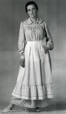 pioneer woman clothing 1800. bonnie\u0027s pattern shop - folkwear historic 1800s prairie / pioneer dress \u0026 apron sewing # woman clothing 1800