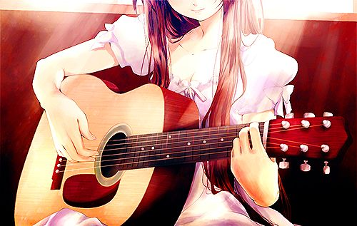 224 Best Images About Girls With Guitars On Pinterest: 67 Best Images About Anime Girls Guitar On Pinterest