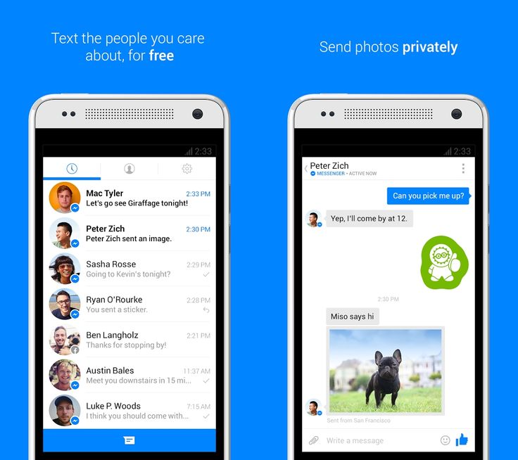 Facebook Messenger APK 33.0.x | Must-have for Facebook users - APK 4 Phone | Must-Have Android Apps | A4P