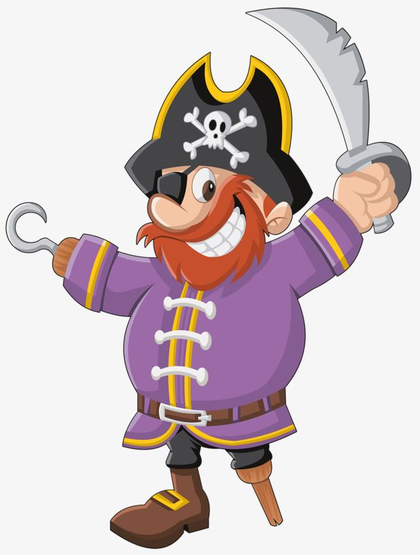 Cartoon pirates PNG and Clipart | Pirate clip art, Pirate cartoon, Cartoon
