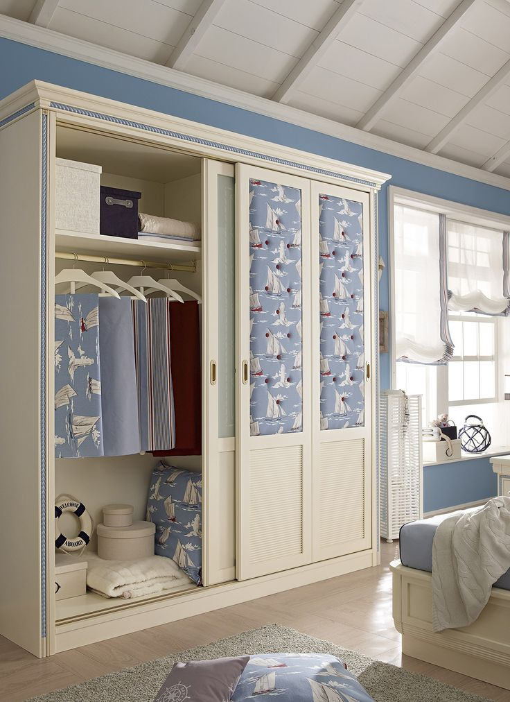 CORDAGE Wardrobe with sliding doors by Caroti
