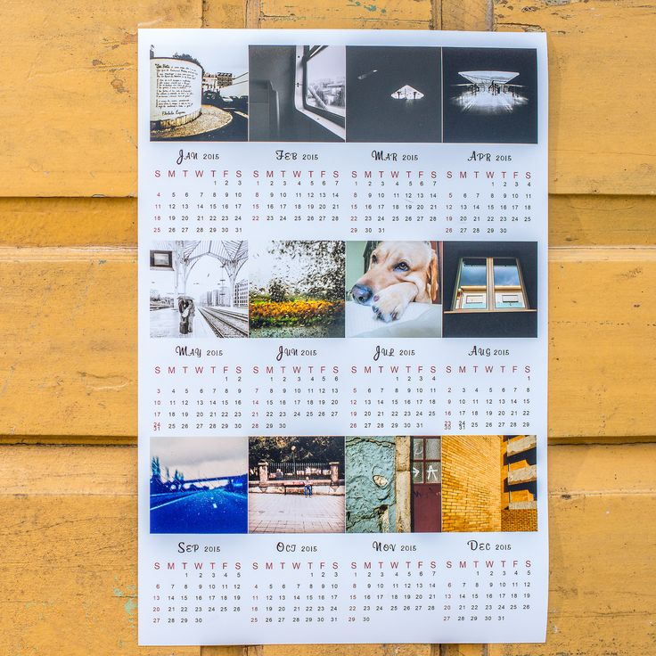 12 best Products images on Pinterest Instagram, Photos and Prints - how to create your own calendar