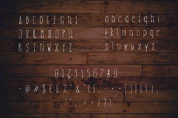 BOHO SPIRIT-Boheemse handgeschreven lettertype Boheemse