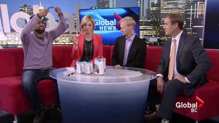 Wireless headphones for iPhone 7 | GlobalTV Tech Talk Sept 21, 2016 | #Wireless #iPhone7 #Solutions #Vancouver #headphones #GetConnected #LOGiiX #LondonDrugs