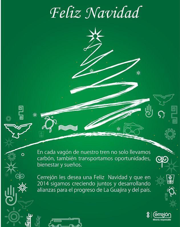 Tarjeta de Navidad de Cerrejón