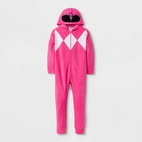 Help your hero gear up for sleep time with this awesome Power Rangers® Red Ranger Dino Bodysuit. It lets her channel the power of the original Pink Ranger suit as she prepares for battle with forces of darkness. This Power Ranger-themed sleepwear is the coolest way to stay warm in bed. It's morphin' time!