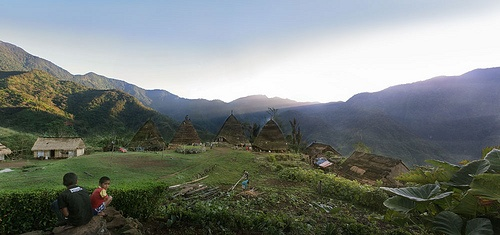 Waerebo Village#- Flores - Indonesia