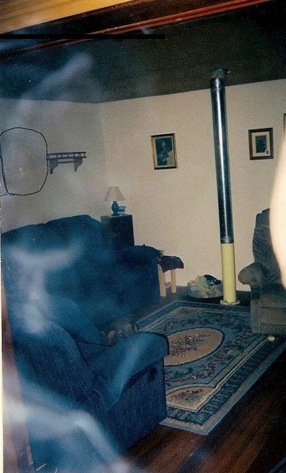 Smoke, steam or ghostly apparition?
