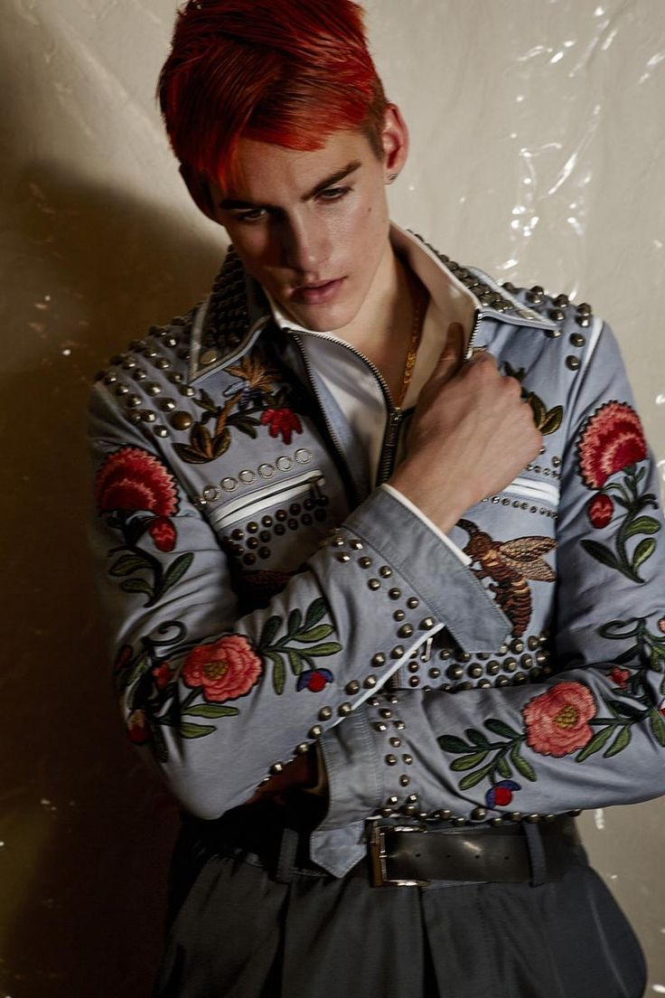 Vogue Hommes Paris 2016 Editorial Masculine Singular 003 Masculin Singulier: Elias de Poot & Presley Gerber for Vogue Hommes Paris