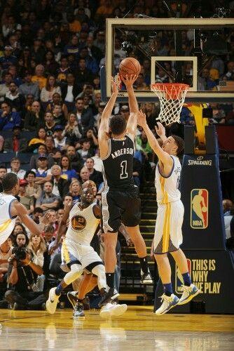 Spurs vs Warriors 4/8/16
