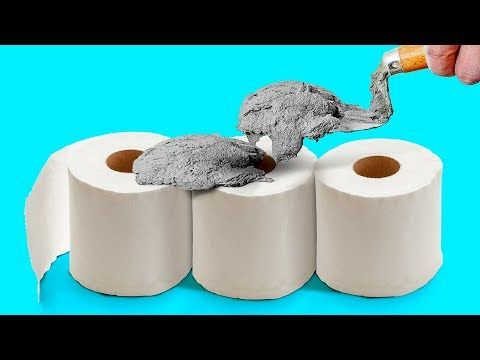 35 Cement Ideas That Are So Easy Youtube Bricolage Et Loisirs