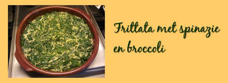 Broccoli-spinazie-frittata