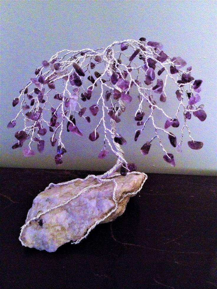 Amethyst Gemstone Tree by AlbionFair on Etsy