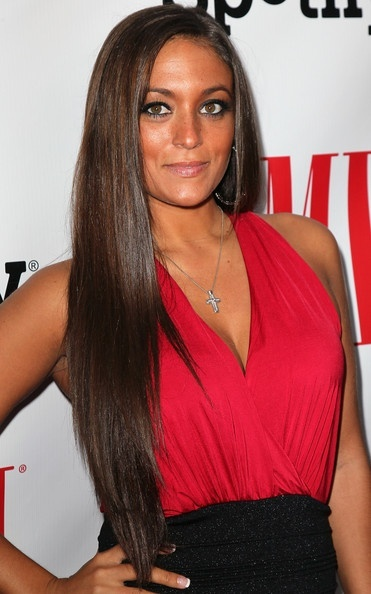 Sammi Giancola's long hair is perfect