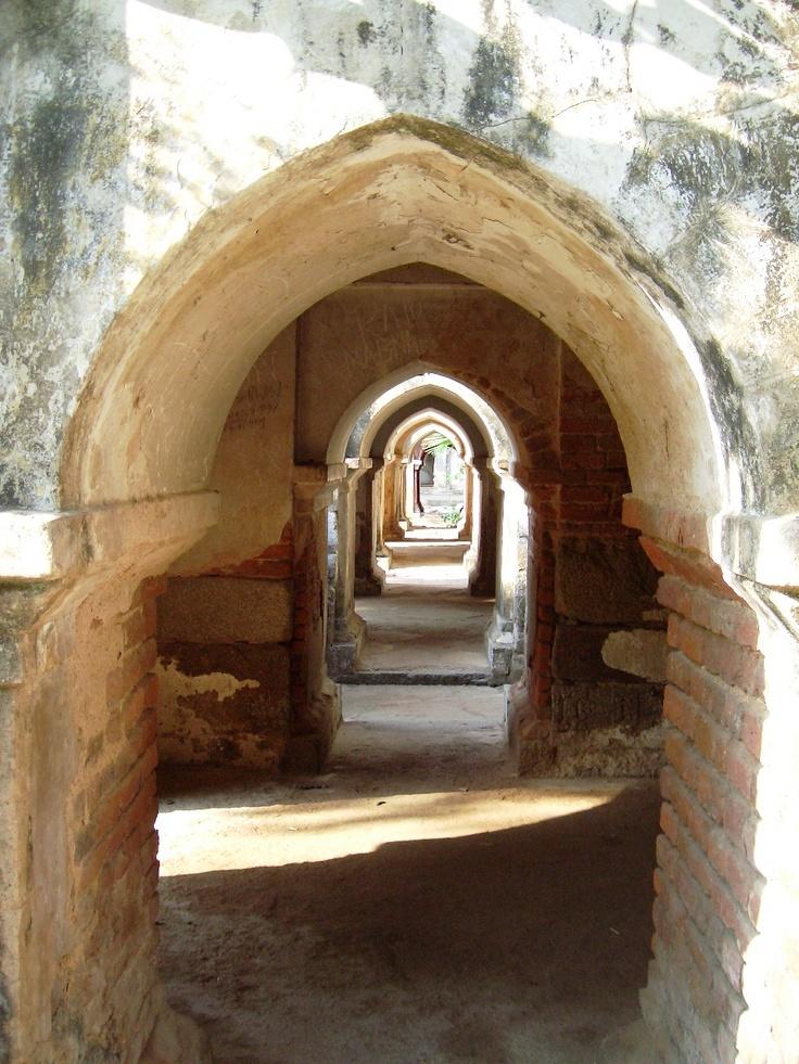 Ancient Hindu Temple in Bodh Gaya Bihar, India