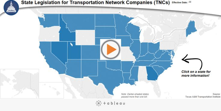 Transportation Network Company (TNC) Legislation