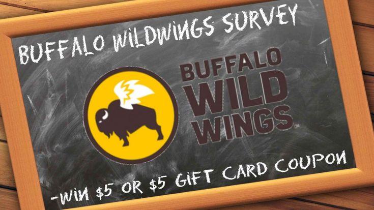 Buffalo wildwings survey win bww gift