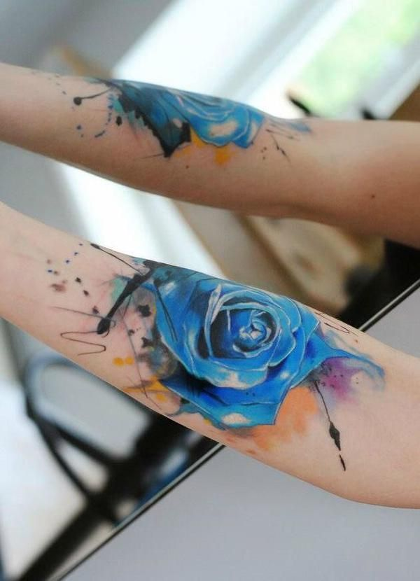 160 Most Popular Rose Tattoos Designs and Meanings cool