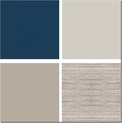 Perfect greige and navy for office for the home pinterest for Perfect beige paint color