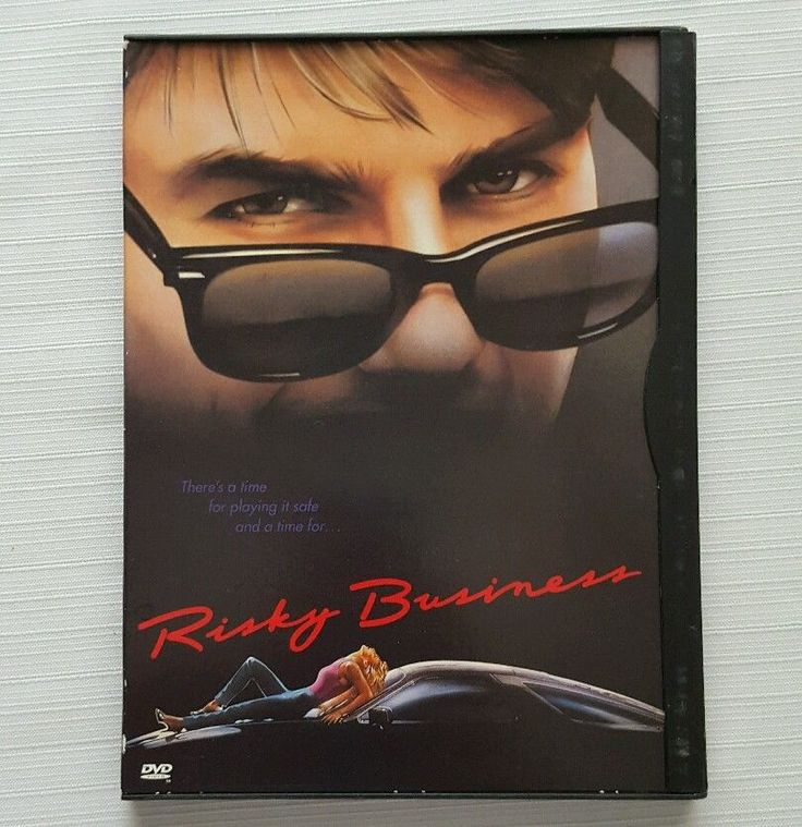 Risky Business (DVD, 1997 Wide & Full) Tom Cruise Rebecca De Mornay in DVDs & Movies, DVDs & Blu-ray Discs | eBay
