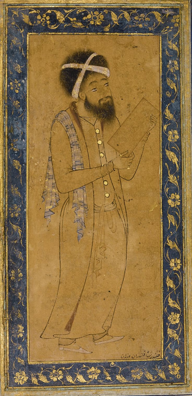 A Blue-eyed Dervish, Persia, Safavid, late 16th century | lot | Sotheby's