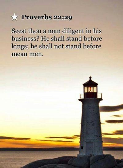 Proverbs 22:29 | Faith | Pinterest