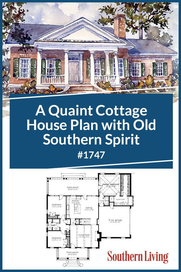 This Classic Cottage Is Our New Favorite House Plan Southern House Plans House Plans Southern Living House Plans