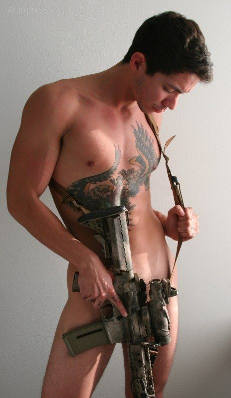 Excellent, agree Naked men with guns nude
