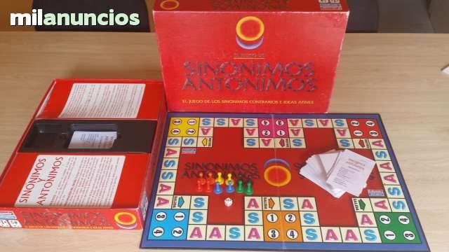 Vendo Juego de Sinónimos y Antónimos. Anuncio y más fotos aquí: http://www.milanuncios.com/juegos-de-mesa/juego-de-sinonimos-y-antonimos-144757146.htm