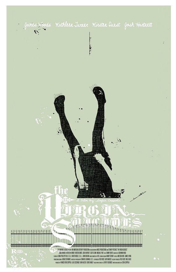 The virgin suicides, alternative poster
