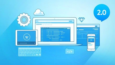 The Complete Web Developer Course 2.0. Learn By Doing - build 25 websites and real mobile apps using HTML, CSS, Javascript, PHP, Python, MySQL and a lot more.