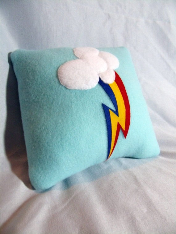 My little Pony Cutie Mark Custom Pillow by CynicalSniper on Etsy, $15.00