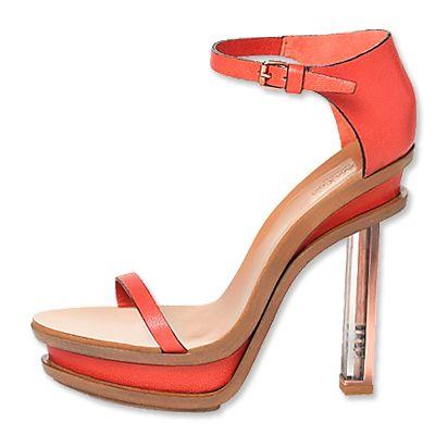 Calvin Klein Collection Enclosed Heel Sandal