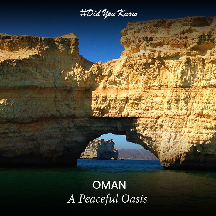 #DidYouKnow According to Global Terrorism Index reports, Oman is a peaceful country, far from any impact of terrorism in the region.