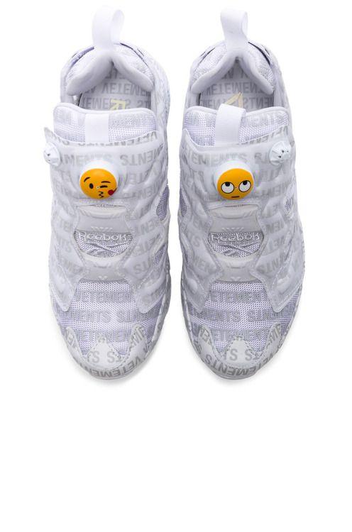 9fdd4eabd39b Vetements x Reebok Emoji InstaPump Fury  shoes