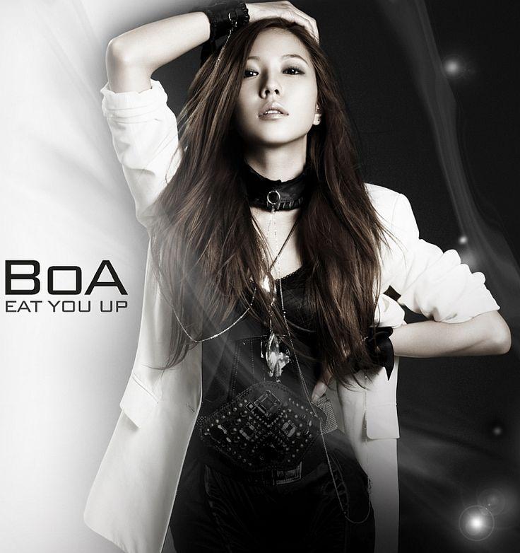Beautiful K-Pop singer Boa Kwon