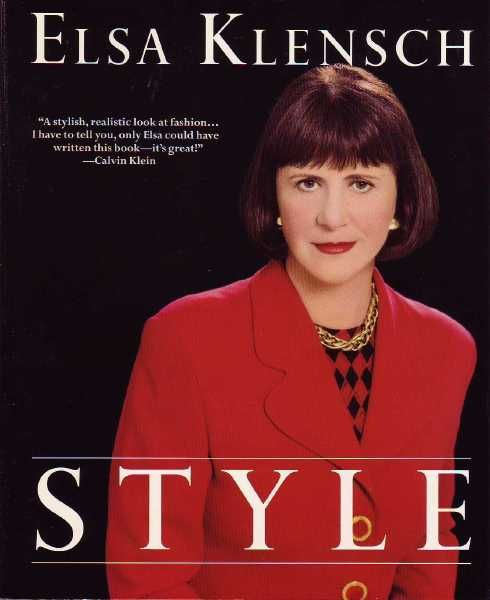 """From 1980-2000 her show """"Style with Elsa Klensch"""" ran on CNN. I loved to watch her show...."""