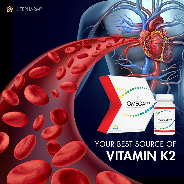 Vitamin K2 is shown to improve your heart health. Find out the facts here and why OMEGA+++ is your best source of high-quality vitamin K2: http://lplink.co/2jpiI60  #VitaminK2 #Omega #HeartHealth #Health