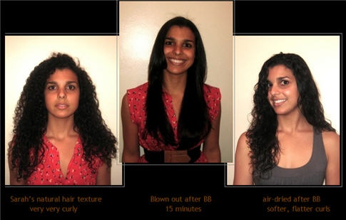 Brazillian Blowout!  Click picture to see Brazillian Blowout products.