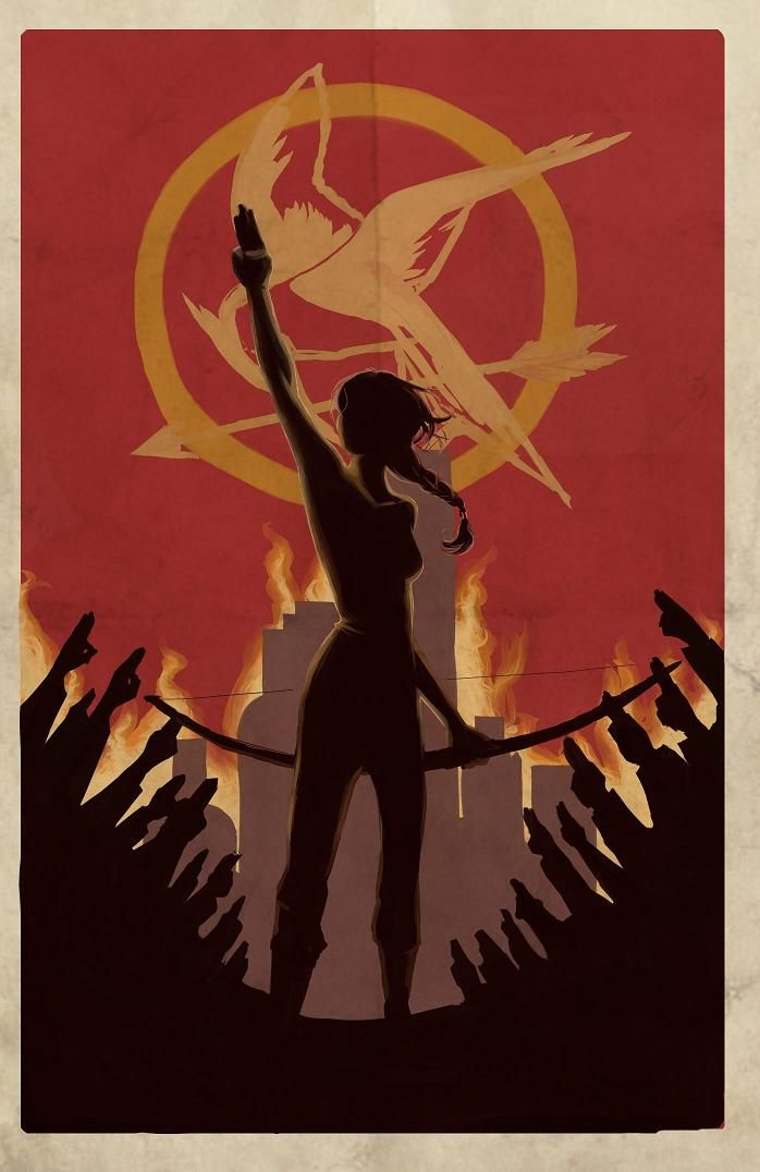 "The Hunger Games fan art: ""Burning"" by Nonvieta.deviantart.com"